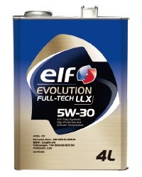 【elf】 EVOLUTION FULL-TECH LLX 【5W-30】