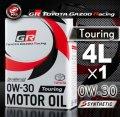 TOYOTA GAZOO Racing トヨタ純正 GR モーターオイル 0W-30 Touring 全合成
