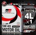 TOYOTA GAZOO Racing トヨタ純正 GR モーターオイル 5W-40 Touring 全合成
